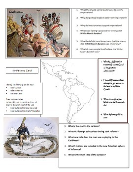 United States emergence as a world power webquest. (Spanish American war & WWI)