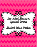 United States in Spatial Terms ~ US Geography~ Student Journal