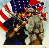 United States of America Civil War Mapping Activity and Quiz