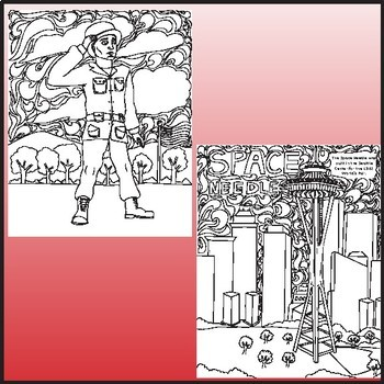 United States Coloring Pages, Zen Doodles