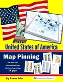 United States of America MAP PINNING