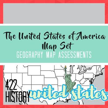 United States of America Map Set