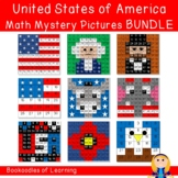 United States of America Math Mystery Pictures BUNDLE (Num