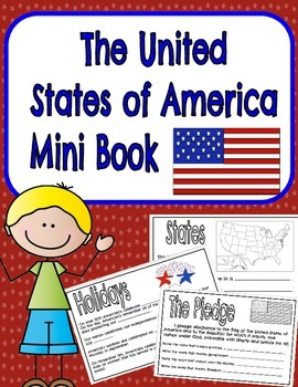 United States of America -Mini Book