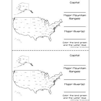 United States of America - Research Mini Book