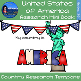 United States of America - Research Mini Book