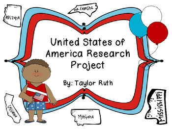 United States of America Research Project: Primary Friendly