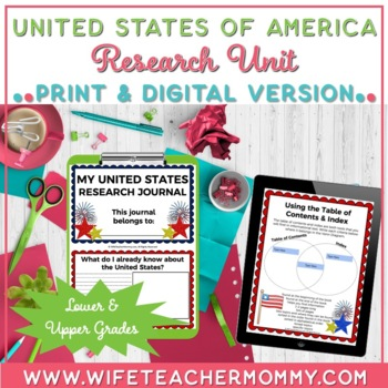 USA Unit- A United States Research Unit for State Reports