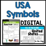 United States of America Symbols & More [Distance Learning
