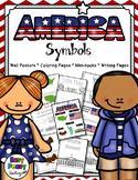 United States of America Symbols Notebook