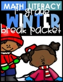 1st Grade Winter Break Packet