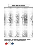 United States of America Word Search