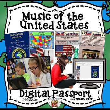 United States of America World Music Digital Passport