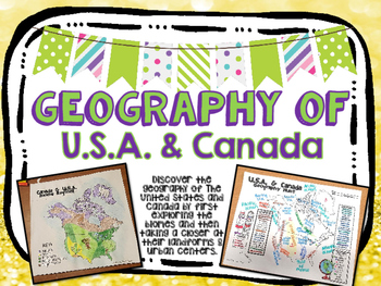 United States of America and Canada Biome and Geography Hunt