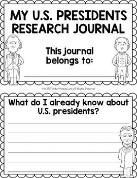 United States of America and U.S. Presidents Research Units & Journals Bundle