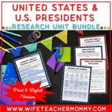 United States of America & U.S. Presidents Research Units