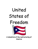 United States of Freedom - A simulation of the restructuring of America