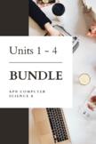 Units 1 - 4 BUNDLE - AP® Computer Science A