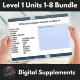 Units 1-8 Distance learning supplements Bundle