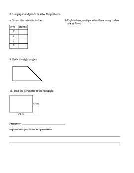 Units 1-8 Test Reviews and Answer Keys - 4th Grade Everyday Mathematics / EDM 4