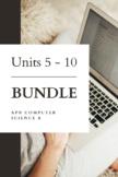 Units 5 - 10 BUNDLE - AP® Computer Science A