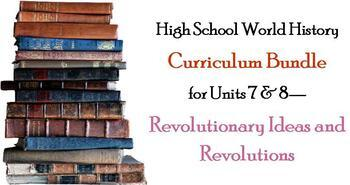 Units 7-8 Curriculum Bundle for World History (Enlightenme