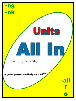 Units All In Game (similar to Uno)