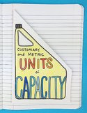 Doodle Notes - Units of Capacity Foldable by Math Doodles