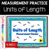 Units of Length Measurement Conversion Powerpoint Game