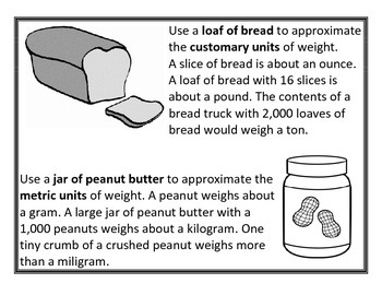 Units of Measure - Customary and Metric (Length, Capacity, Weight, & Time)