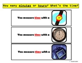 """""""Units of Measure & Tools"""" Sorting/Flashcards for Autism"""
