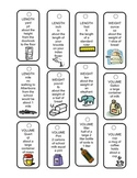 Units of Measurement Clue Cards