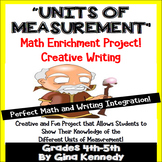 "Measurement Project, Units of Measurement Math ""Theme"" Book"