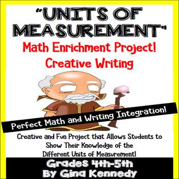 "Measurement Project, Units of Measurement Math ""Theme"" Book"