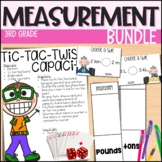 Units of Measurement - Everything But the Dice - 3rd Grade Math Unit