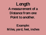 Units of Measurement PowerPoint Lesson