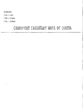 Units of Measurement and Conversion