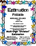 Estimation with Multi-Digit Division Foldable with Answer Key