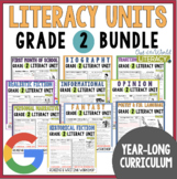 Units of Study Bundle: Grade 2 {10 Months of Reading & Writing Lessons w/ CCSS!}