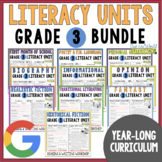 Units of Study Bundle: Grade 3 {10 Months of Reading & Writing Lessons w/ CCSS!}