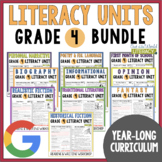 Units of Study Bundle: Grade 4 {10 Months of Reading & Writing Lessons w/ CCSS!}