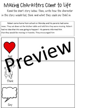 Units of Study, Narrative Writing, Making Characters Come to Life