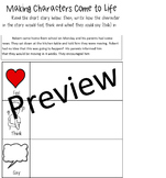 Units Study, Narrative Writing, Making Characters Come to Life