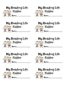 Units of Study, Reading Life Folder