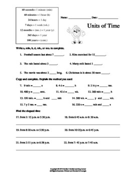 Units of Time