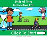 Units of Time Distance Learning Interactive PDFs