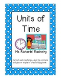 Units of Time Mini Flipbook