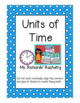 Units of Time Mini Flipbook