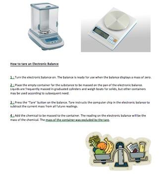 Units of measurement: Mass (Students' copy)