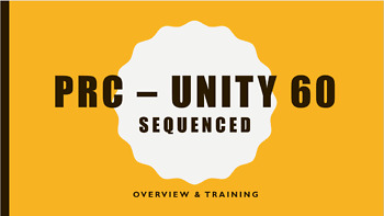 Unity 60 Sequenced Staff In-Service